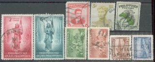 Philippines,  1946,  500,  501; 1947,  506,  508; 1949,  535,  536;1952,  582,  592, photo