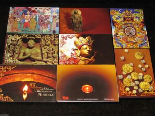 India 2007 Buddha Mahaparinivarna Year Buddhism Max Cards Presentation Pack photo