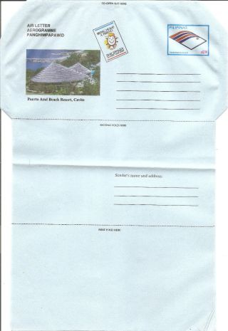 Philippines Airletter - 1997 Puerto Azul Beach Resort Cavite photo