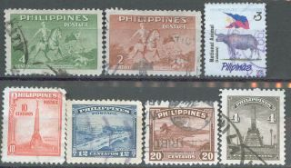 Philippines,  1947,  504 - 506,  508; 1949,  535 - 536; 1996,  2218c, photo