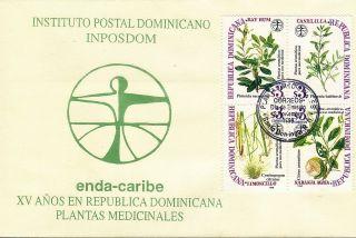 Dominican Medicinal Plants Sc 1289 Fdc 1998 photo