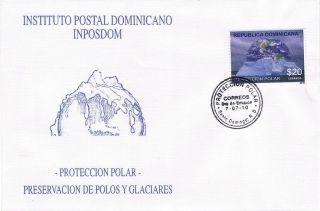 Dominican Polar Protection Sc 1482 Fdc 2010 photo