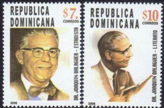 Dominican Pres.  Joaquin Balaguer Sc 1425 - 1426 2006 photo