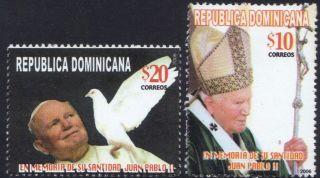 Dominican Pope John Paul Ii Sc 1419 - 1420 2006 photo