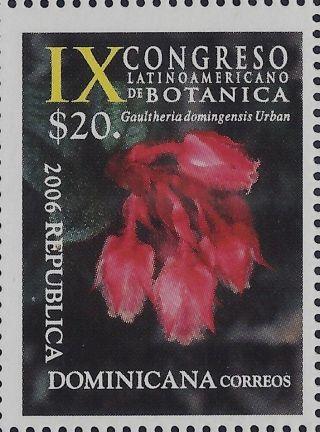 Dominican Ninth Latin American Botanical Congress Sc 1422 2006 photo