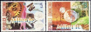 Dominican Millennium Sc 1329 - 30 1999 photo
