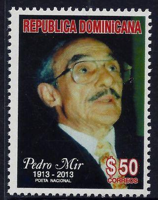 Dominican Poet Pedro Mir Sc 1535 2013 photo