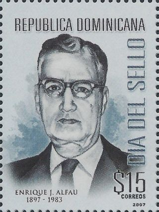Dominican Stamp Day Sc 1435 2007 photo