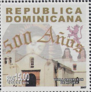 Dominican 500 Years Villa Salvaleon De Higuey Sc 1441 2007 photo
