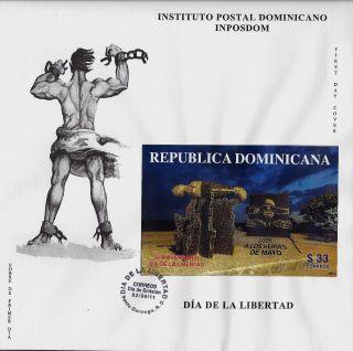 Dominican Liberty Day Assassination Of Pres Rafael Trujillo Sc 1506 Fdc 2011 photo