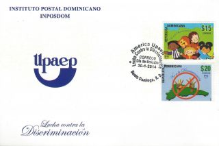 Dominican Upaep Fight Against Discrimination Fdc 2014 photo