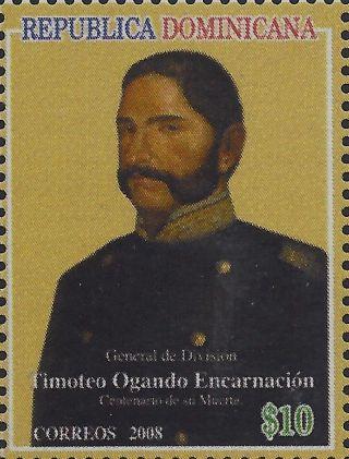 Dominican General Timoteo Ogando Sc 1459 2008 photo