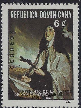 Dominican St.  Teresa Of Jesus Of Avila Sc 870 1982 photo