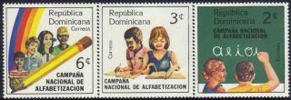 Dominican Natl.  Literacy Campaign Sc 876 - 8 1983 photo