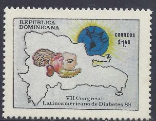 Dominican Diabetes ' 89 7th Latin Congress Sc 1064 1989 photo