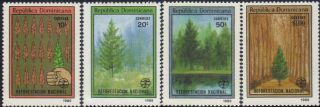 Dominican Natl.  Afforestation Sc 1071 - 4 1989 photo