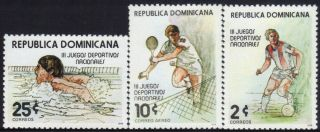 Dominican 3rd Natl.  Games Sc 815 - 16,  C298 1979 photo