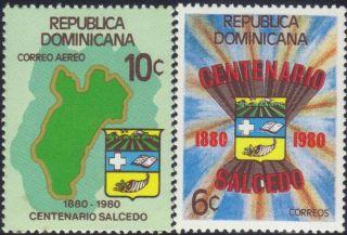 Dominican Salcedo Province Cent.  Sc 840,  C328 1981 photo