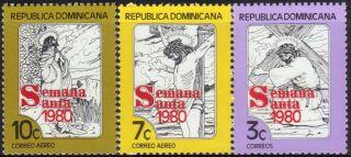 Dominican Holy Week Semana Santa Sc 824,  C306 - 7 1980 photo