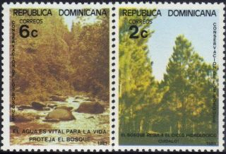 Dominican Forest Conservation Sc 848 - 9 1981 photo