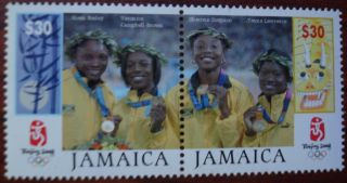 Jamaica Female Olympians Beijing 2008 photo