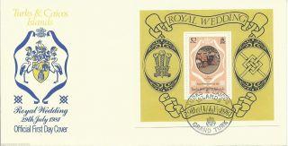 Turks & Caicos Islands - 1981 - Ms656 - Cv £ 0.  55 (minaiture Sheet Only) photo