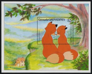 Grenada Grenadines 993 Disney,  The Fox & The Hound photo