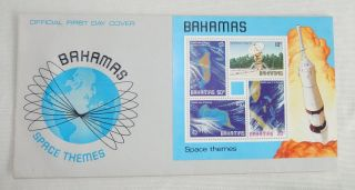 First Day Cover Space Themes Bahamas photo