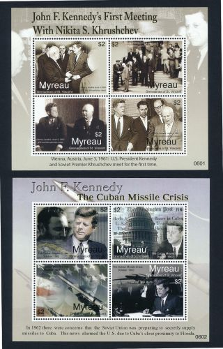 St Vincent Grenadines Myreau 1 - 2 Kennedy,  Missile Crisis,  Aircraft photo