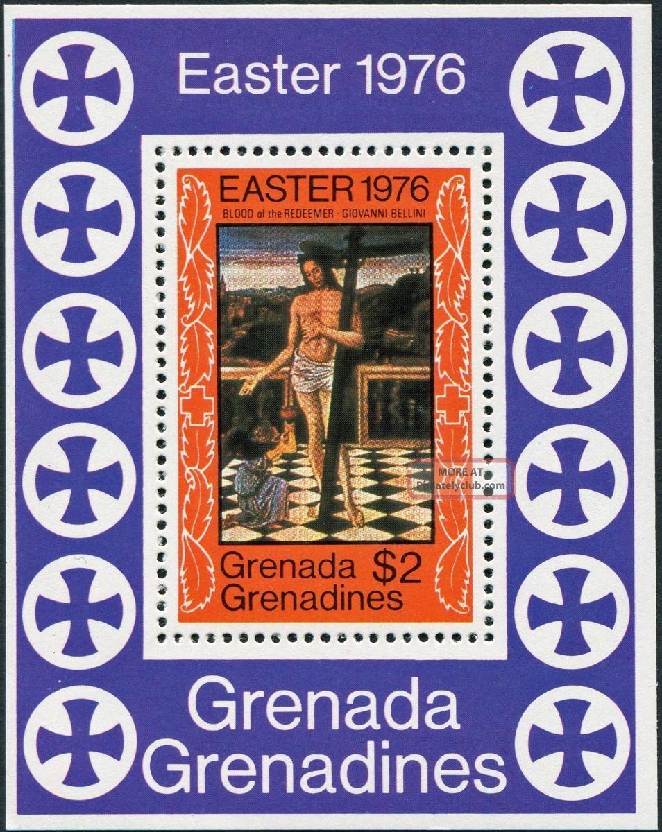 Grenada And Grenadines 1976 (qeii) $2 Multicoloured Sgms175 Cv £0.  65 Caribbean photo