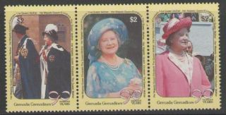 Grenada Grenadines Sg1262/4 1990 Queen Mother photo