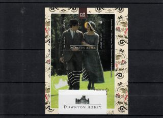 Nevis 2014 Downton Abbey 1v S/s Lady Sybil Crawley Tom Branson photo