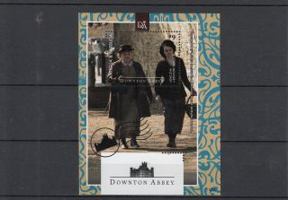 Antigua & Barbuda 2014 Downton Abbey 1v S/s Mrs Patmore Daisy Tv Series photo