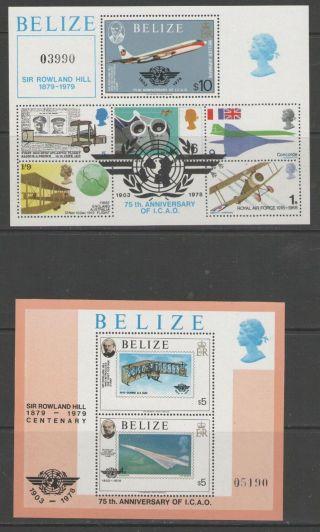 Belize Sgms513 1979 Rowland Hill photo