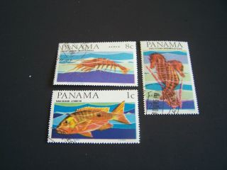Panama.  463,  A,  C339 - 42.  Fish. photo