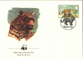 (70285) Fdc - Belize - Jaguar - 1983 photo