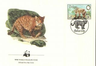 (70287) Fdc - Belize - Jaguar - 1983 photo