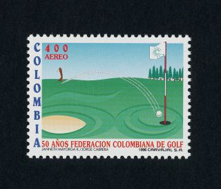 Colombia C891 Golf Course,  Sports photo