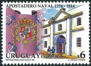 Uruguay: Mi 2331 Spanish Military Naval Station / Montevideo (1998) photo