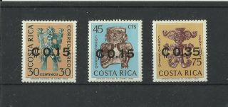 1198.  Costa Rica Overprint 1966 photo