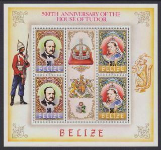 Belize - 1984 House Of Tudor (6v) Sheetlets Um / photo