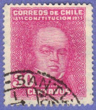 Chile Stamp Scott 183 Stamp See Photo photo