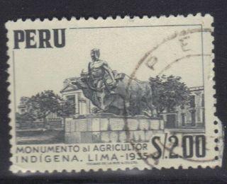 Peru Stamp Scott 466 Stamp See Photo photo