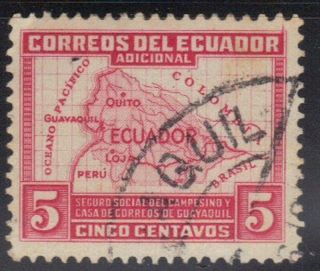 Ecuador Stamp Scott Ra41 Stamp See Photo photo
