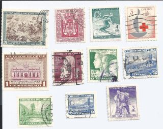 Chile 11 1950 - 1960 Issues photo