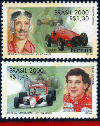 2769 - 70 Brazil 2000 Autosports,  Ayrton Senna,  Chico Landi,  Automobiles,  Formula 1 photo