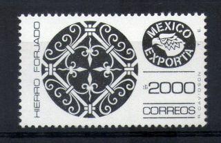 Mexico Exporta Type Xiii 2000p Wrought Iron W/o Burelaje Light Black photo