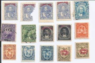 Ecuador 16 1920 - 1930s Issues photo