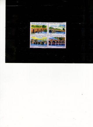 Uruguay - Series Theme Bridges - M.  N.  H.  EdicciÓn Year 2005. photo