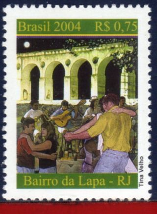 2920 Brazil 2004 - Lapa Neighborhood,  Music,  Dance,  Sc 2920, photo